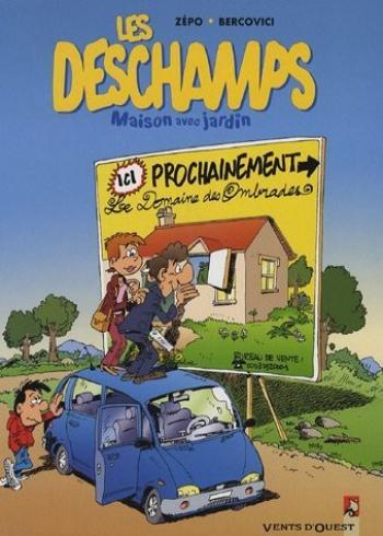 Couverture de l'album Les Deschamps - 1. Maison avec jardin