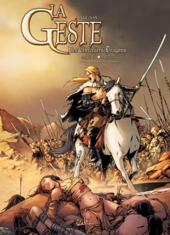 Couverture de l'album La Geste des Chevaliers Dragons - 18. Arsalam (La guerre des Sardes, partie 2)