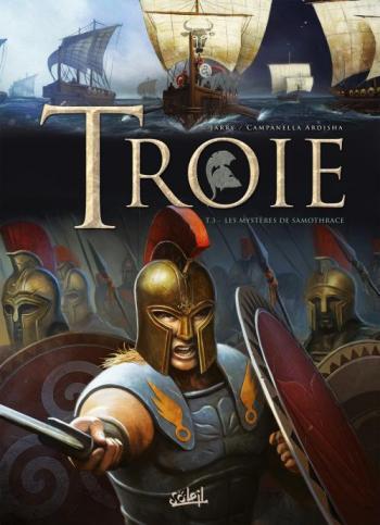 Couverture de l'album Troie - 3. Les Mysteres de Samothrace