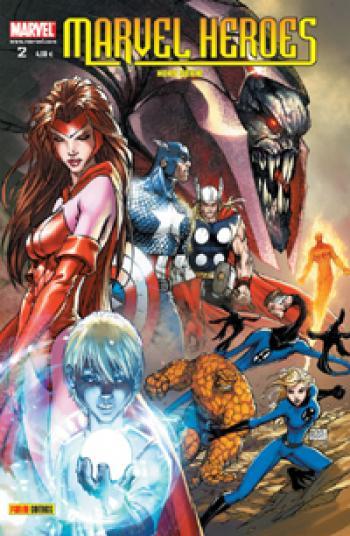 Couverture de l'album Marvel Heroes - Hors Série (V2) - 2. Onslaught revient !