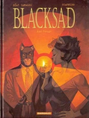 Couverture de l'album Blacksad - 3. Âme rouge