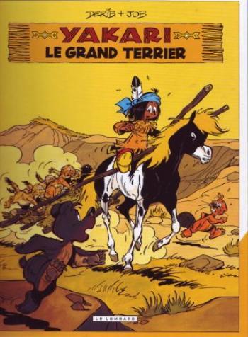 Couverture de l'album Yakari - 10. Le Grand Terrier