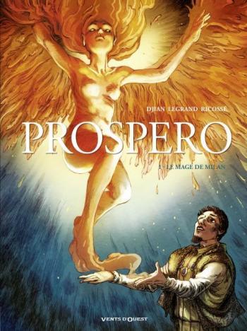 Couverture de l'album Prospero - 1. Le mage de Milan