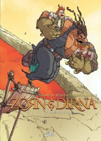 Couverture de l'album Zorn & Dirna - 2. Le dauphin et  le renard