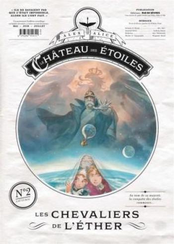 Couverture de l'album Le Château des étoiles (Gazette) - 2. Les Chevaliers de l'éther