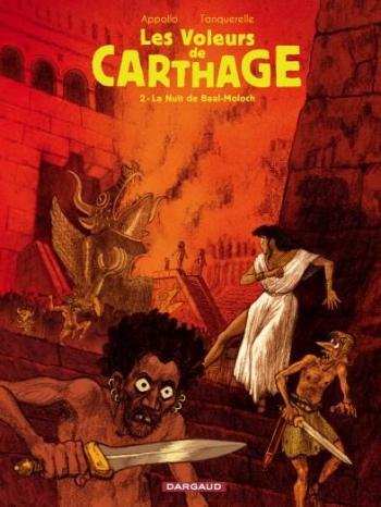 Couverture de l'album Les Voleurs de Carthage - 2. La Nuit de Baal-Moloch