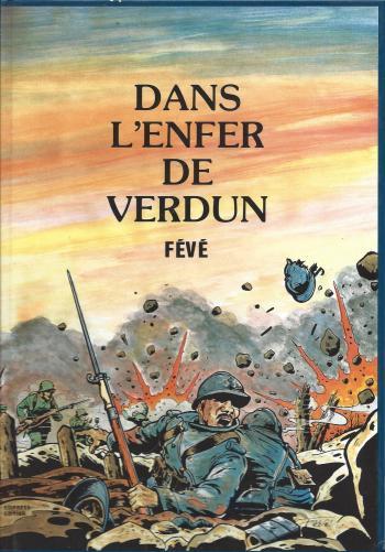 Couverture de l'album Dans l'enfer de Verdun (One-shot)