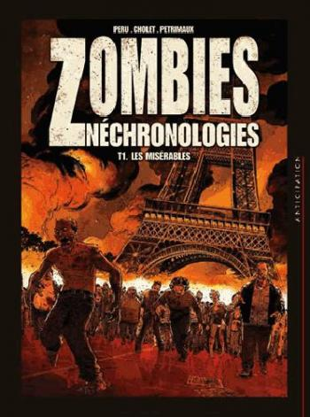 Couverture de l'album Zombies néchronologies - 1. Les misérables