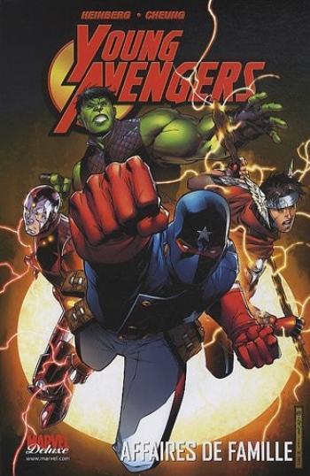 Couverture de l'album Young Avengers - 1. Affaires de famille, Volume 1
