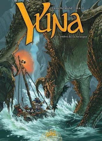Couverture de l'album Yuna - 3. L'ombre de la Tarasque