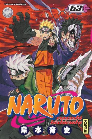 Couverture de l'album Naruto - 63. Tome 63