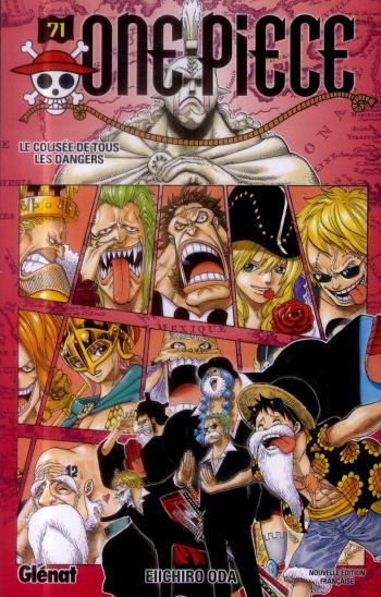 Couverture de l'album One Piece - 71. Le Colisée de tous les dangers