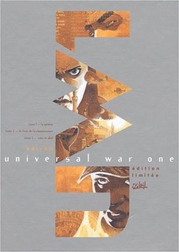 Couverture de l'album Universal War One - COF. Coffret tomes 1 à 3