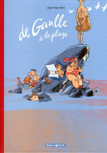 Couverture de l'album De Gaulle à la plage (One-shot)
