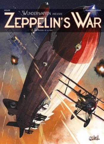 Couverture de l'album Zeppelin's War - 1. Les Raiders de la nuit