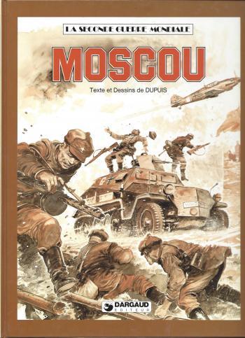 Couverture de l'album La Seconde Guerre mondiale - 5. Moscou
