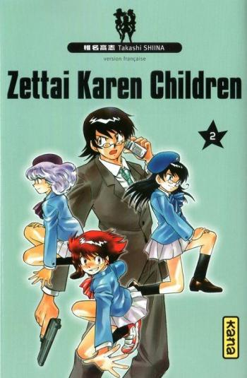 Couverture de l'album Zettai Karen Children - 2. Tome 2