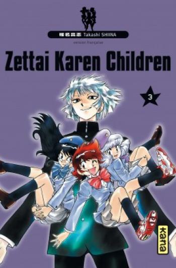 Couverture de l'album Zettai Karen Children - 3. Tome 3