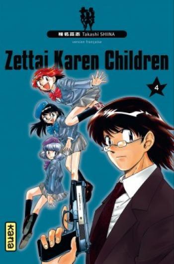Couverture de l'album Zettai Karen Children - 4. Tome 4