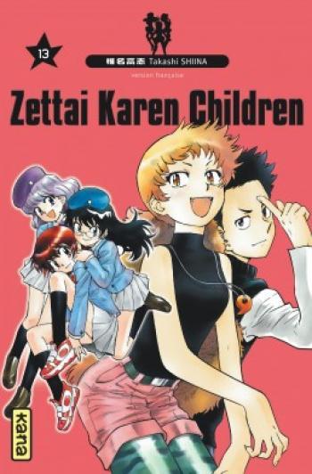 Couverture de l'album Zettai Karen Children - 13. Zettai Karen Children, Tome 13