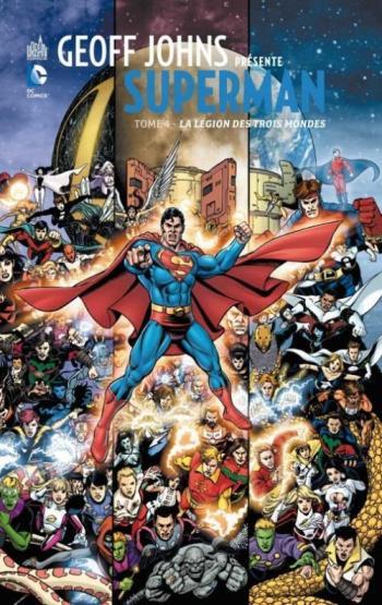 Couverture de l'album Geoff Johns présente Superman - 4. La légion des trois mondes