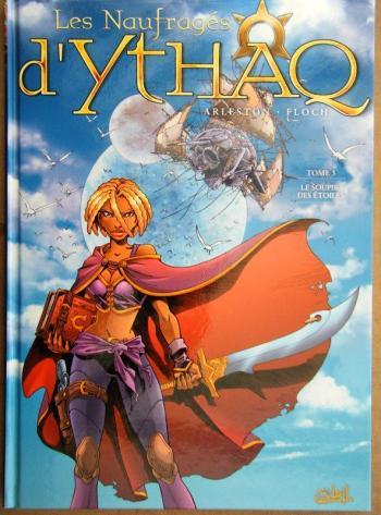Couverture de l'album Les Naufragés d'Ythaq - 3. Le Soupir des étoiles