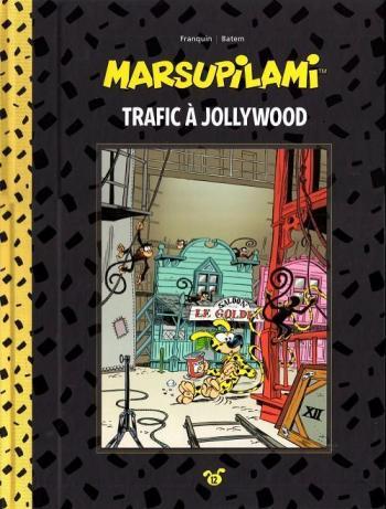 Couverture de l'album Marsupilami (Collection Hachette) - 12. Trafic à Jollywood