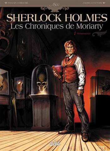 Couverture de l'album Sherlock Holmes - Les Chroniques de Moriarty - 1. Renaissance