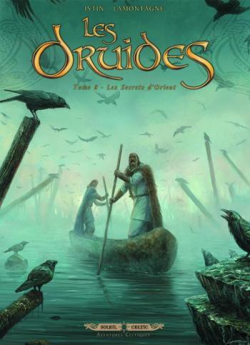 Couverture de l'album Les Druides - 8. Les Secrets d'orient