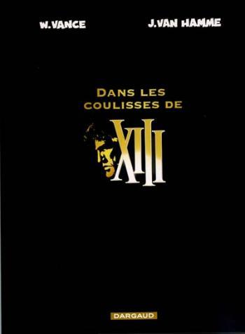 Couverture de l'album XIII - HS. Dans les coulisses de XIII