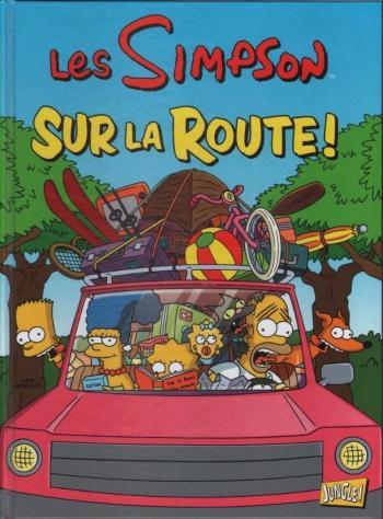 Couverture de l'album Les Simpson (Jungle) - 22. Sur la Route!