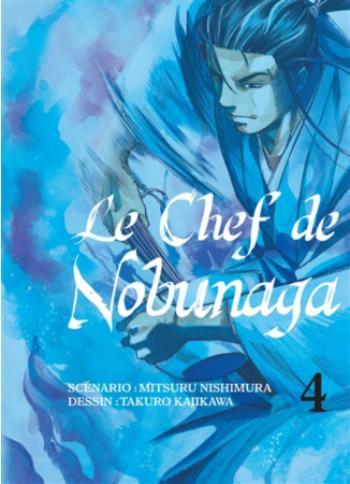 Couverture de l'album Le Chef de Nobunaga - 4. La fin du serment