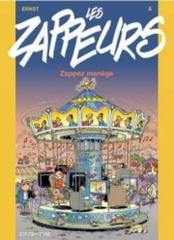 Couverture de l'album Les Zappeurs - 8. Zappez manège