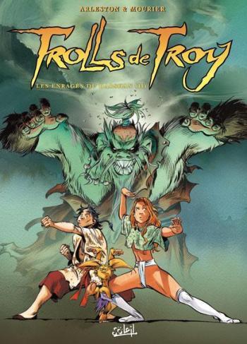 Couverture de l'album Trolls de Troy - 10. Les enragés du Darshan