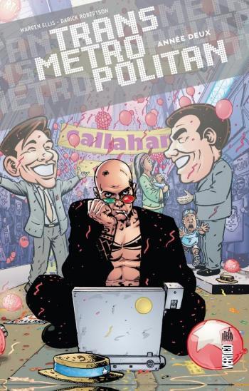 Couverture de l'album Transmetropolitan (Urban Comics) - 2. Année deux