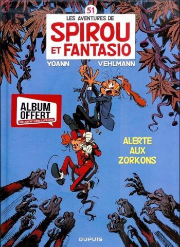 Couverture de l'album Spirou et Fantasio - 51. Alerte aux zorkons