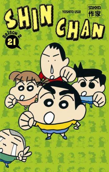 Couverture de l'album Shin Chan - 36. Shinchan - Saison 2, Tome 21