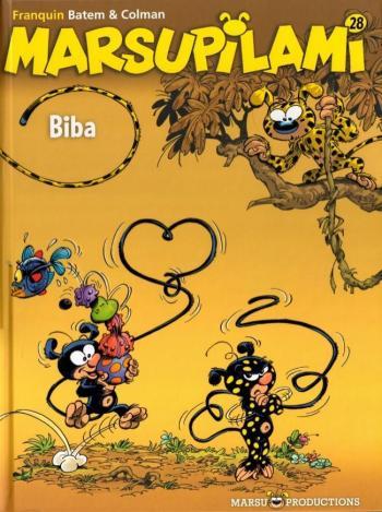 Couverture de l'album Marsupilami - 28. Biba