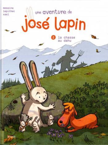 Couverture de l'album José Lapin (Une aventure de) - 2. La chasse au dahu
