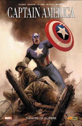 Couverture de l'album Captain America (100 % Marvel) - 4. Théâtre de guerre