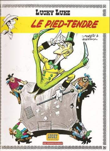 Couverture de l'album Lucky Luke - 33. Le Pied-Tendre