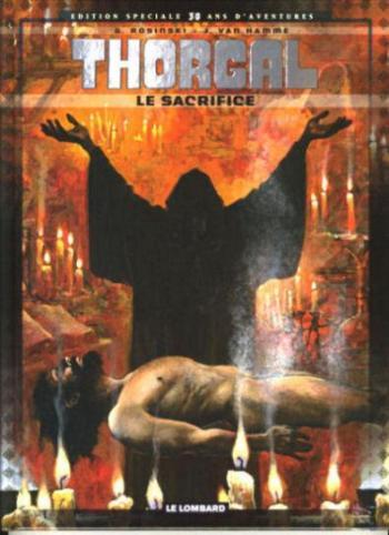 Couverture de l'album Thorgal - 29. Le Sacrifice
