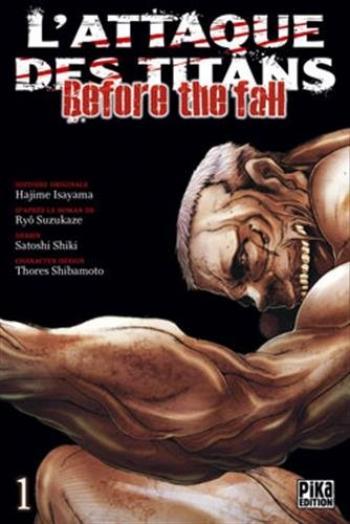 Couverture de l'album L'Attaque des Titans - Before the Fall - 1. Before the fall - Tome 1