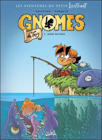 Couverture de l'album Gnomes de Troy - 3. Même pas peur