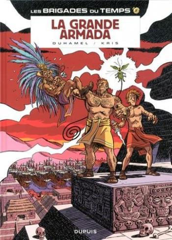 Couverture de l'album Les Brigades du temps - 2. La grande armada