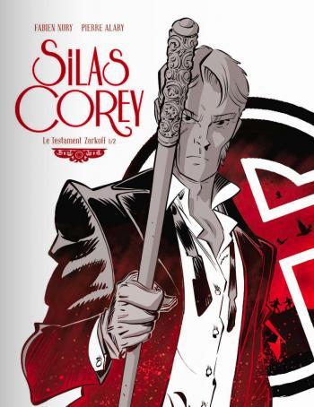 Couverture de l'album Silas Corey - 3. Le Testament Zarkoff 1/2