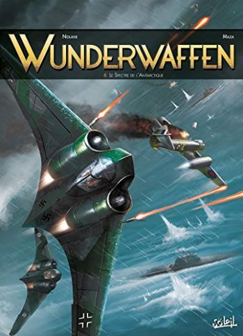Couverture de l'album Wunderwaffen - 6. Le Spectre de l'Antarctique