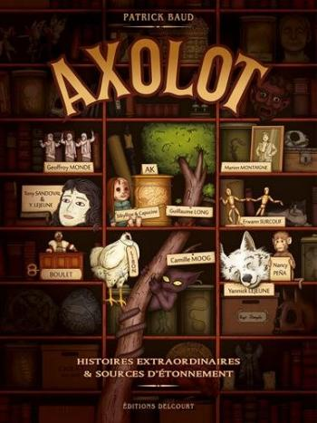 Couverture de l'album Axolot - 1. Volume 1