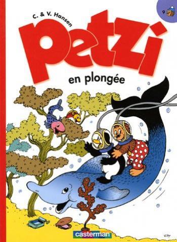 Couverture de l'album Petzi (Deuxième série) - 9. Petzi en plongée