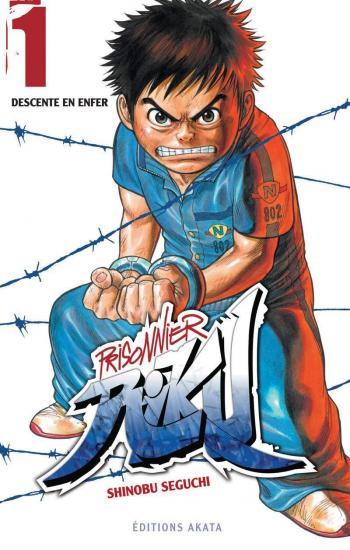 Couverture de l'album Prisonnier Riku - 1. Descente en enfer